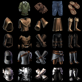flare armor set icons