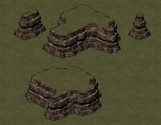 Test Cliff in Grasslands