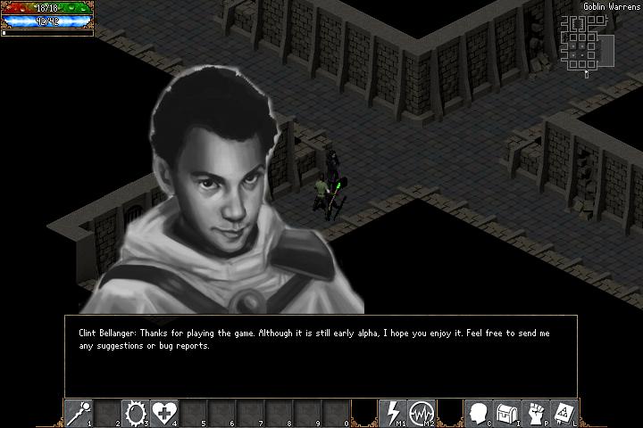 screenshot of an NPC portrait dialog